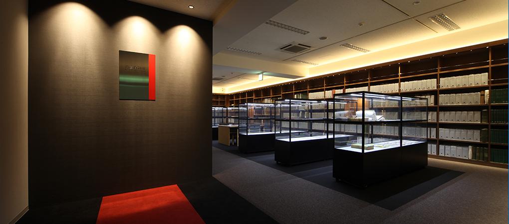 T博物館 貴重図書室